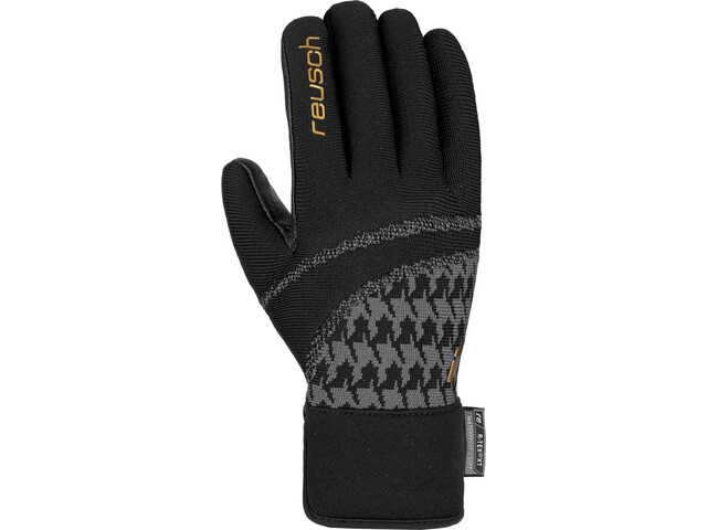 Reusch Re:Knit Victoria R-TEX XT Gants Femme, black/gold
